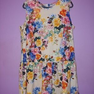 Simply Be Floral Dress